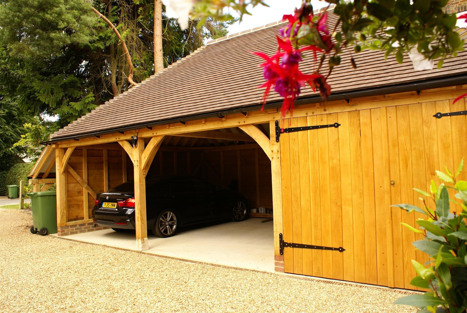 3 Bay Full Span Garage Logstore