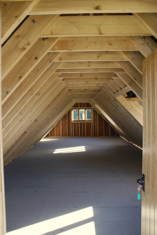 Basic 4 Bay First Floor Garage