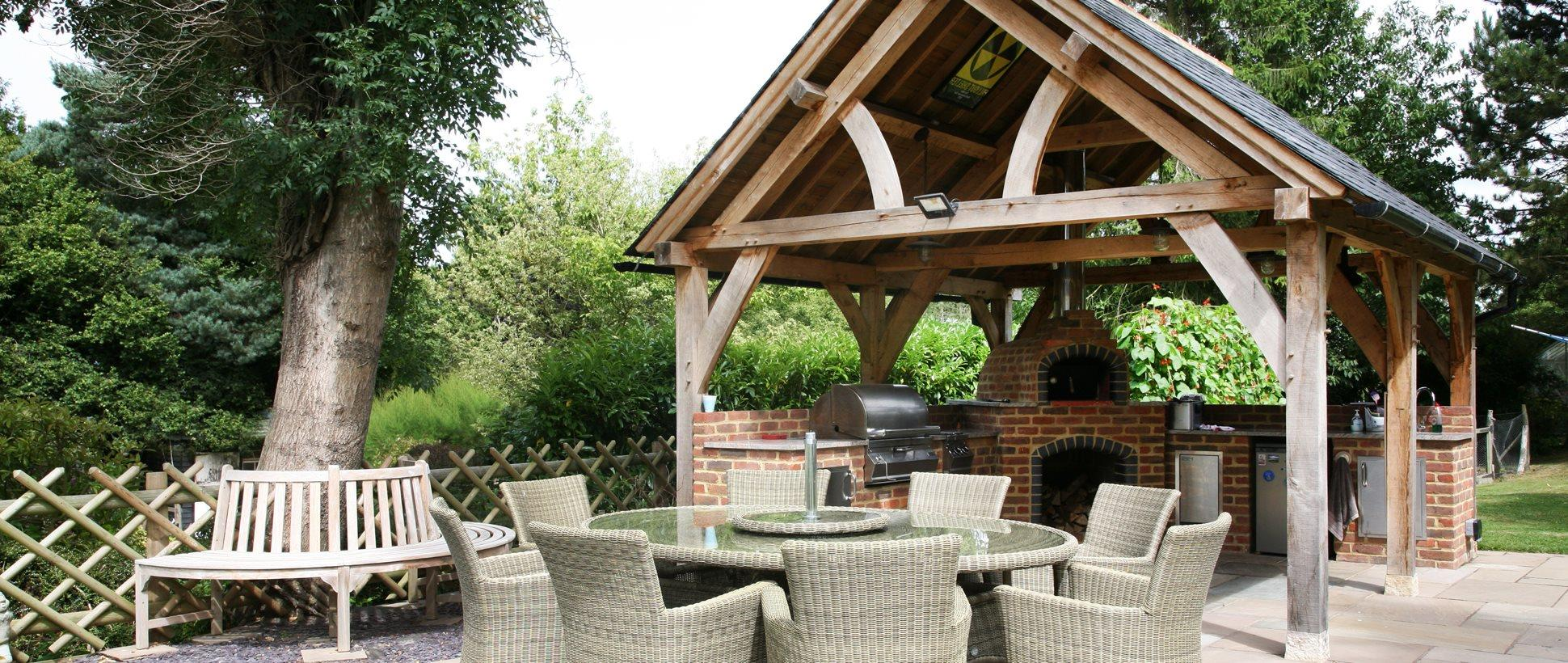 Oak Frame Gazebos Outdoor Living Oak Designs Co