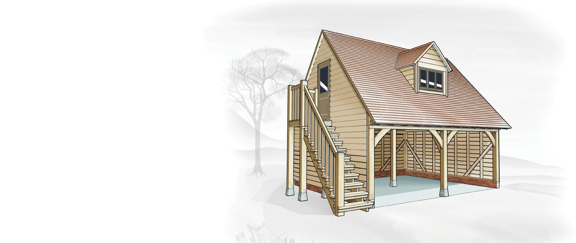 The cheltenham garage home office oak designs co - Office supplies cheltenham ...