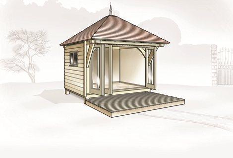 Oak Garden Rooms - Oak Designs Co.