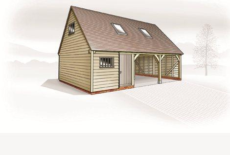 The Sevenoaks ~ Garage, Store & Home Office