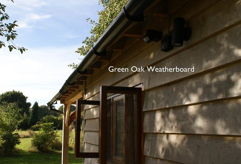 Green Oak Weatherboard