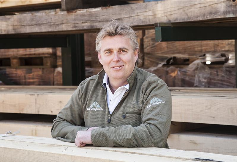Steve Elliot Managing Director MCIOB and founder of The Oak Designs Co.
