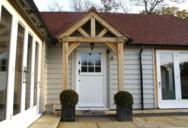 Porch & Stable front door